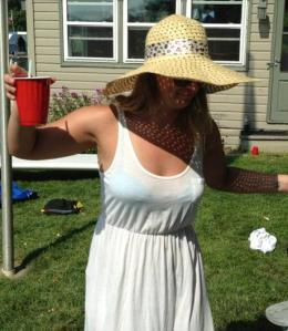 Fact: Big hats are always an excuse for inappropriate behavior.